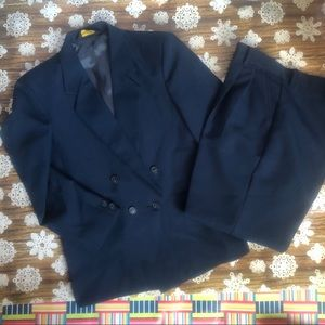Michael James Boys Navy Suit Jacket and Trousers
